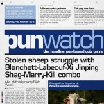 Punwatch S01E16 - Stolen sheep struggle with Blanchett-Labeouf-Xi Jinping Shag-Marry-Kill combo