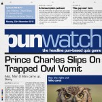 Punwatch S01E17 - Prince Charles Slips On Trapped Owl Vomit